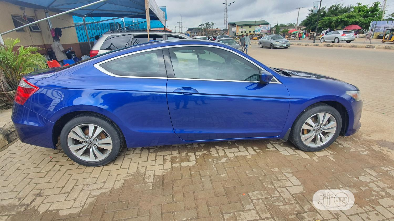 Honda Accord 2009 Coupe 2.4 EX-L Blue | Cars for sale in Alimosho, Lagos State, Nigeria