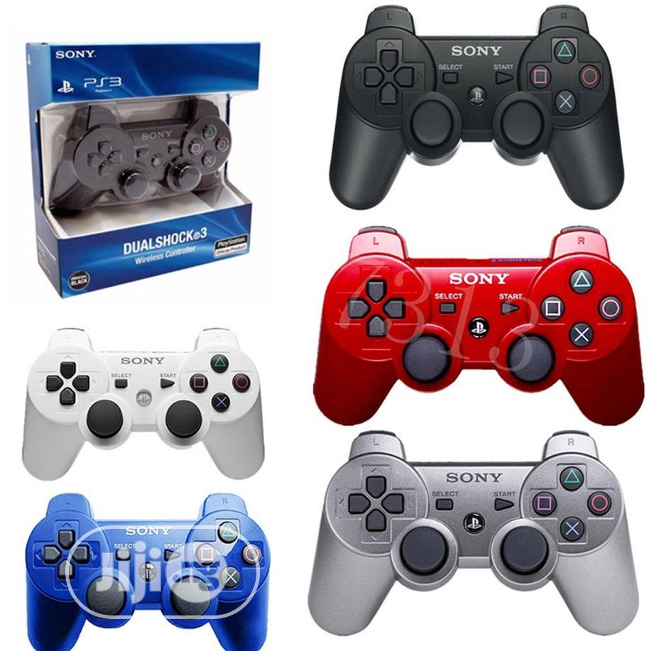 PS3 Playstation 3 Wireless Dualshock Controller Joystick   Accessories & Supplies for Electronics for sale in Ikeja, Lagos State, Nigeria