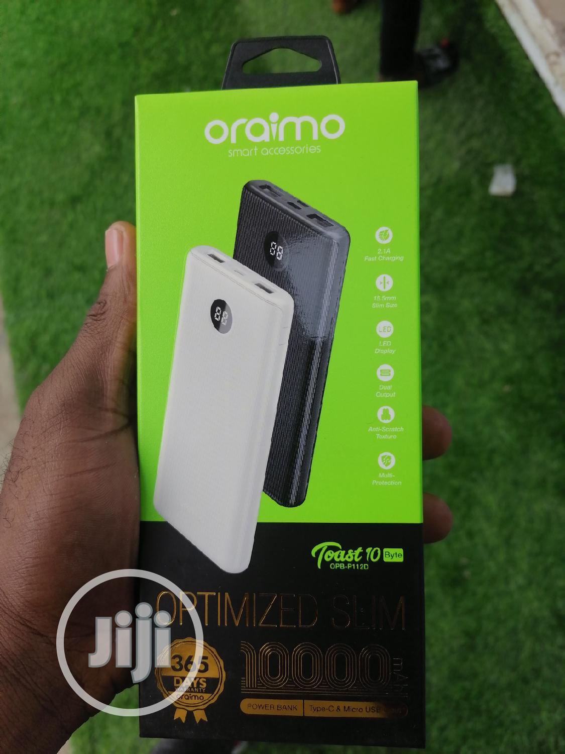 Original Oraimo Power Bank | Accessories for Mobile Phones & Tablets for sale in Ikeja, Lagos State, Nigeria