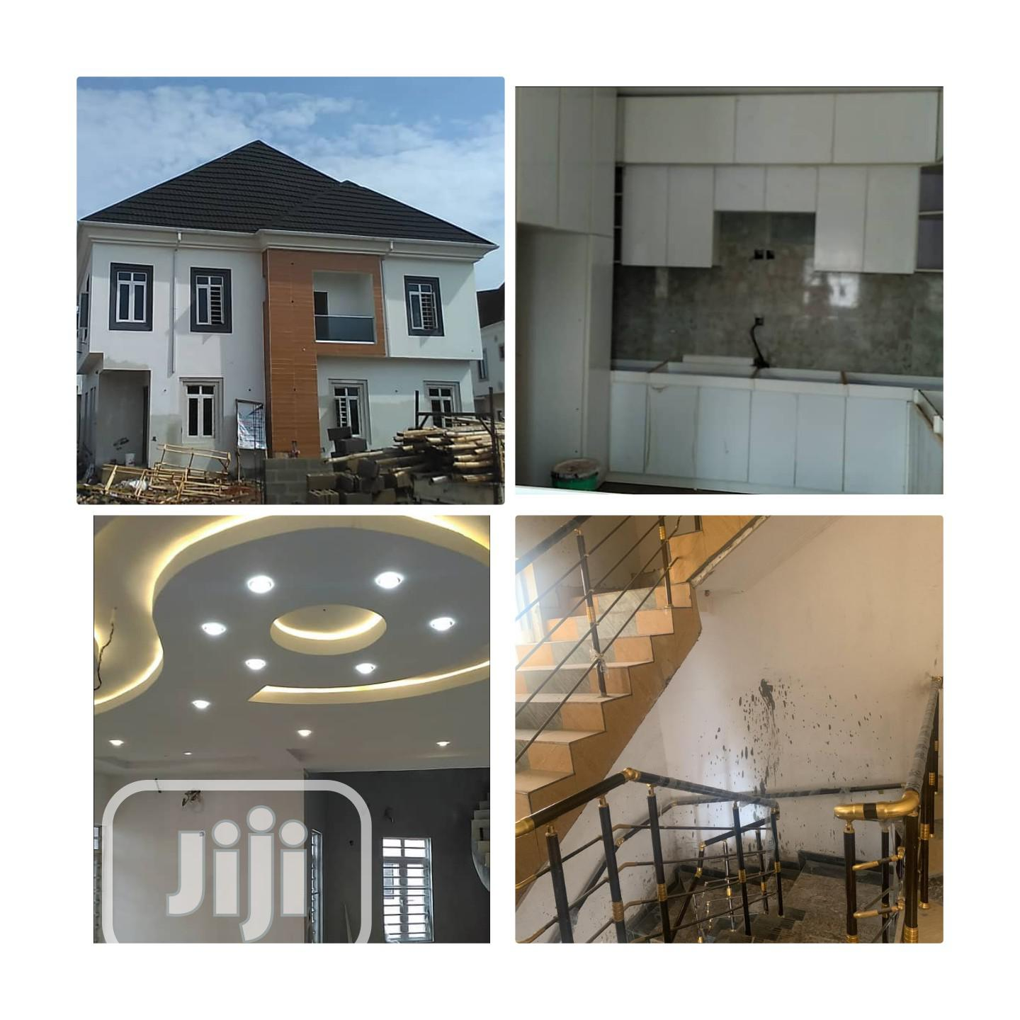 Luxury 5 Detached Bedroom Duplex At Magodo Phase 2