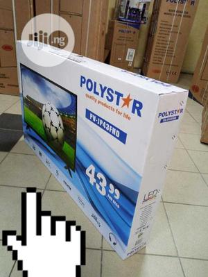 Quality Polyster 43 Inches LED | TV & DVD Equipment for sale in Lagos State, Ojo