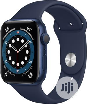 Apple Watch Series 6 (GPS) 44mm Blue   Smart Watches & Trackers for sale in Lagos State, Ikeja