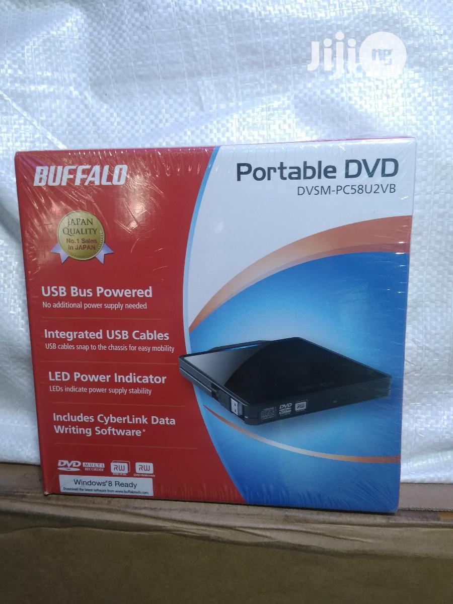 Buffalo Portable Dvd. Dvsm-pc58u2vb