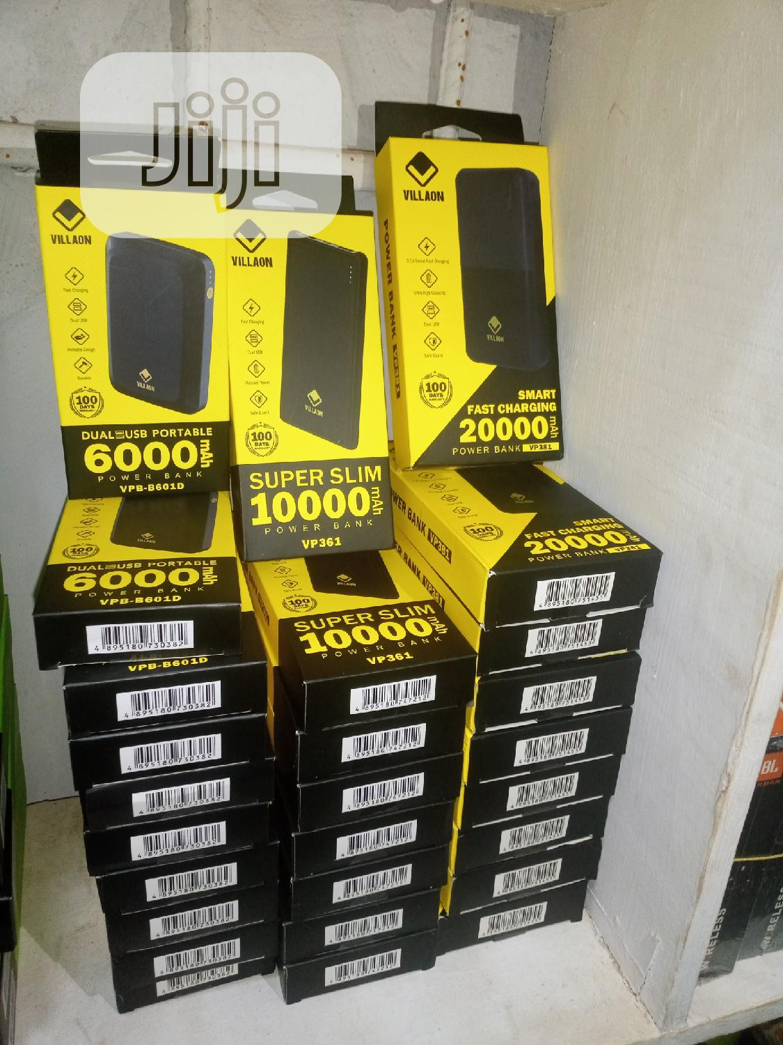 20,000mah New Villaon Powerbank | Accessories for Mobile Phones & Tablets for sale in Ibadan, Oyo State, Nigeria