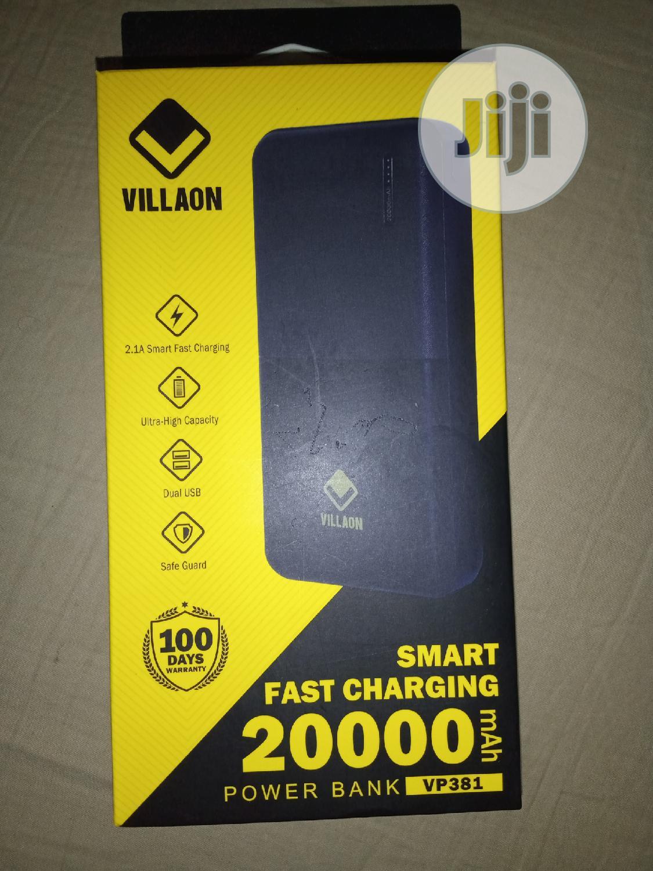 20,000mah New Villaon Powerbank