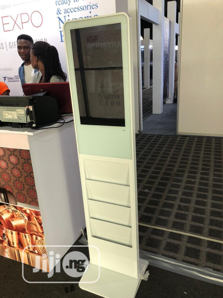 Archive: Indoor And Outdoor LCD Display Kiosk For Advertising