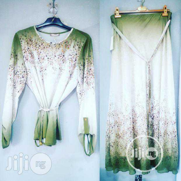 Turkey Stoned Soft Chiffon Skirt/Top | Clothing for sale in Amuwo-Odofin, Lagos State, Nigeria