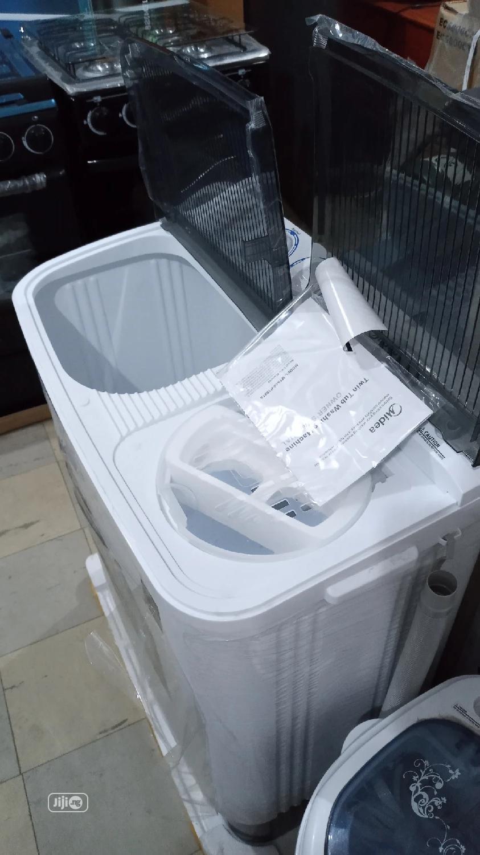 Midea 6kg Semi-Automatic Twin Tub Washer MTA60-P1001S   Home Appliances for sale in Ibadan, Oyo State, Nigeria