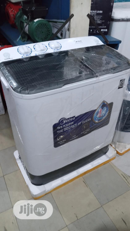 Midea 6kg Semi-Automatic Twin Tub Washer MTA60-P1001S