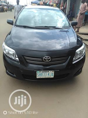 Toyota Corolla 2009 1.8 Advanced Black   Cars for sale in Lagos State, Ifako-Ijaiye