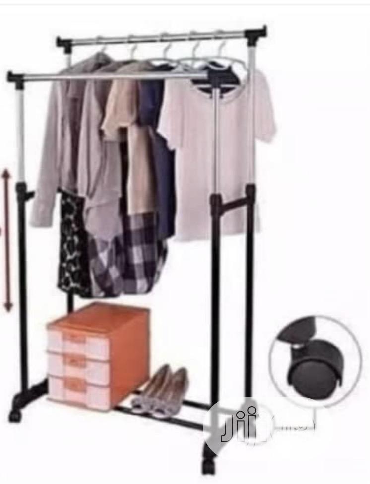 Adjustable Standing Cloth Rack