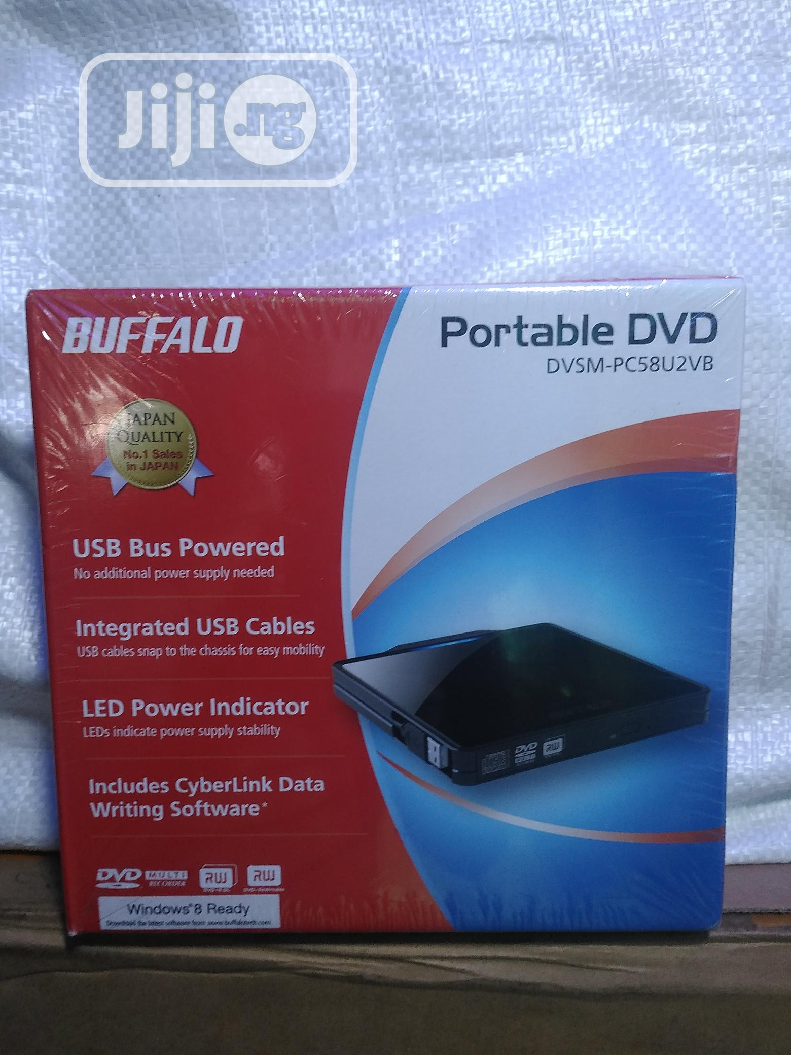Buffalo Portable Dvd. Dvsm-pc58u2vb | Computer Accessories  for sale in Ikeja, Lagos State, Nigeria