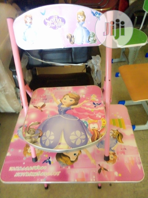 Unique Set Of Foldable Kid's/Infant Desk