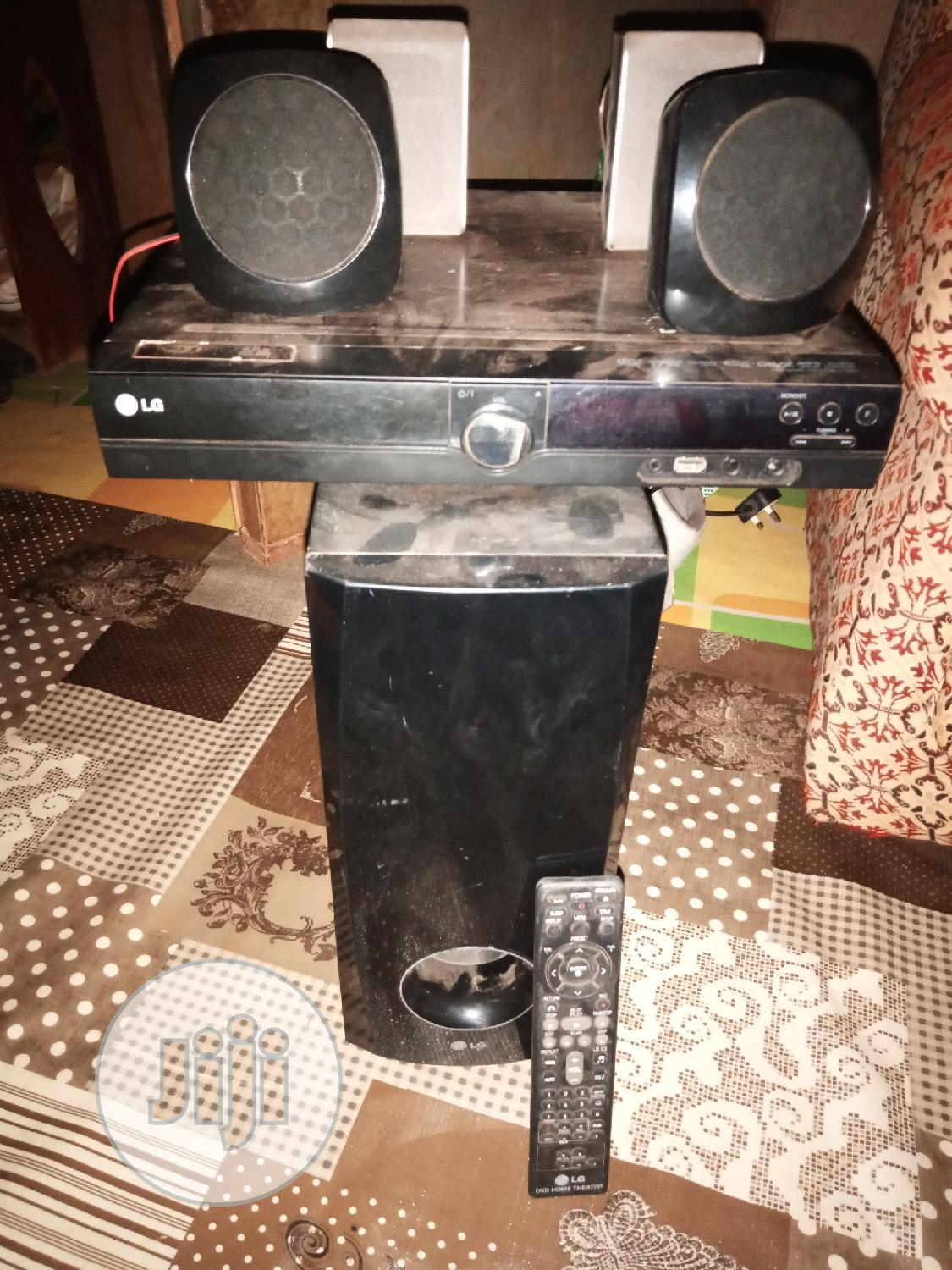 Fairly Used LG Home Theater With Remote Control   Audio & Music Equipment for sale in Egbeda, Oyo State, Nigeria