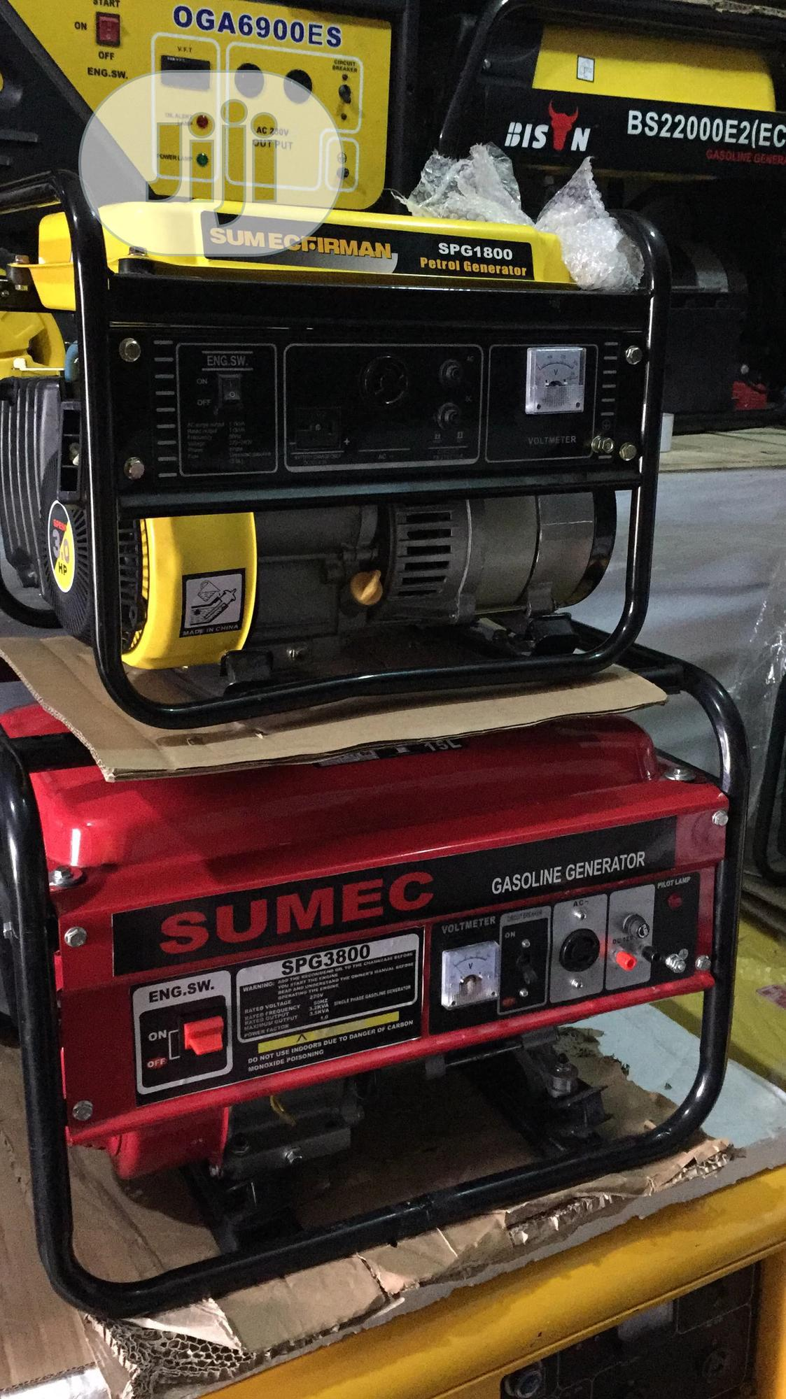 Sumec Firman Spg1800 Generator,Pure Copper