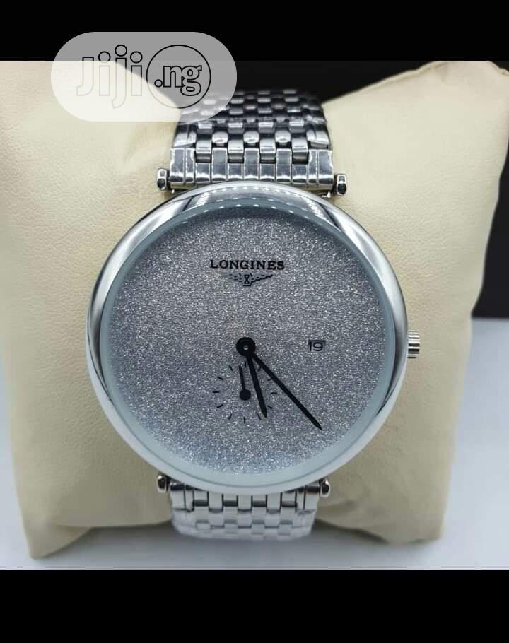 Archive: Longines Silver Wristwatch
