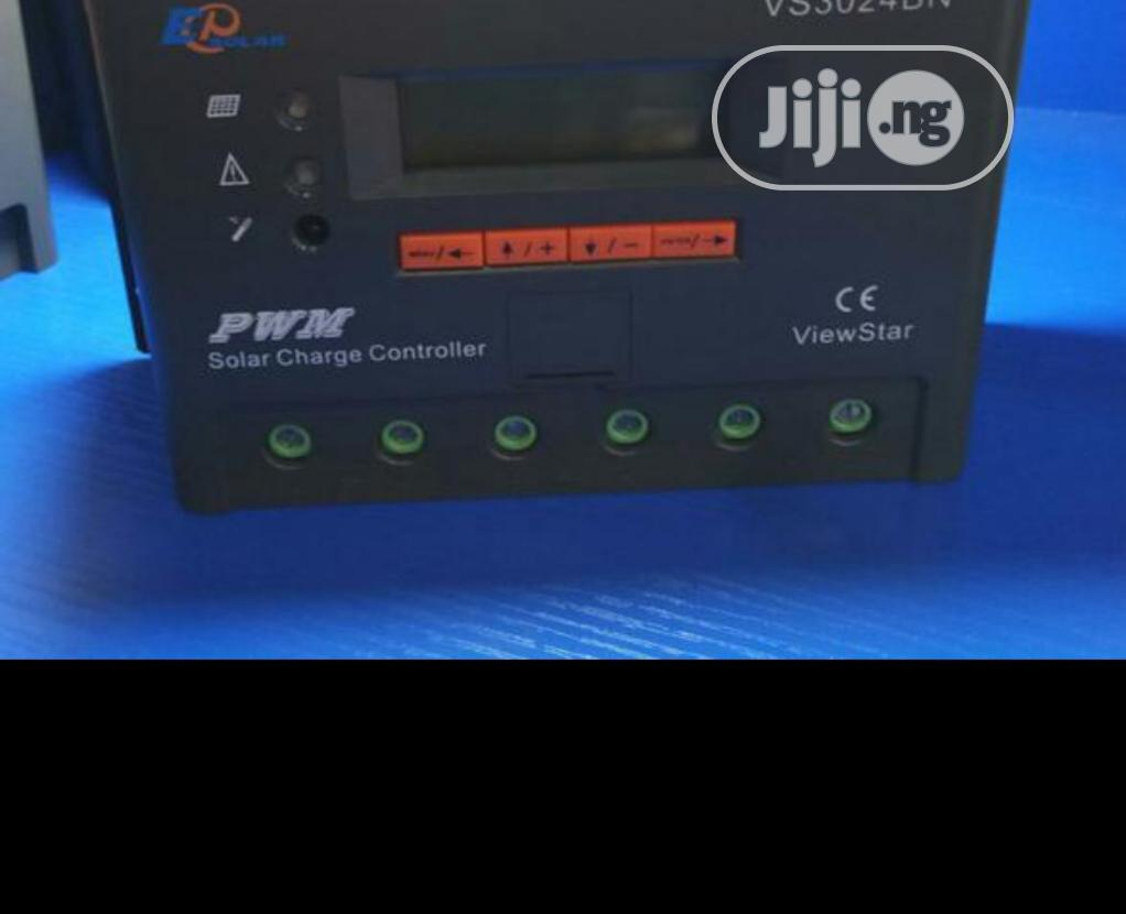 EPSOLAR 30ah 12/24v PWM Charge Controller   Solar Energy for sale in Ojo, Lagos State, Nigeria