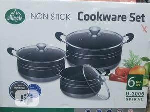 Ultimate Non Stick Pot/ 6 Pcs Set Spiral   Kitchen & Dining for sale in Lagos State, Lagos Island (Eko)