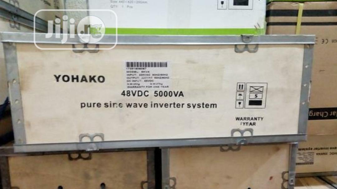 5kva 24/48V Yohako Inverter Wall Mount | Solar Energy for sale in Ojo, Lagos State, Nigeria