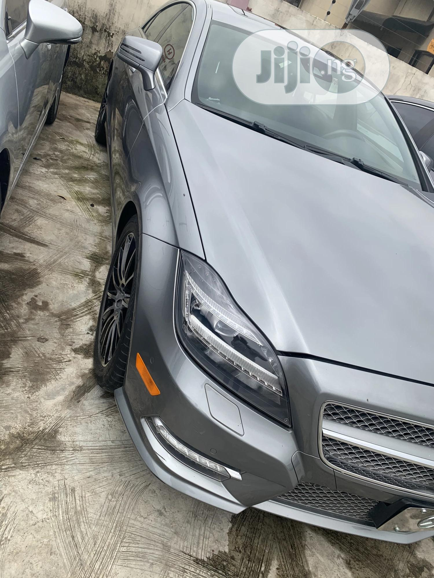 Mercedes-Benz CLS 2014 Green | Cars for sale in Ikeja, Lagos State, Nigeria