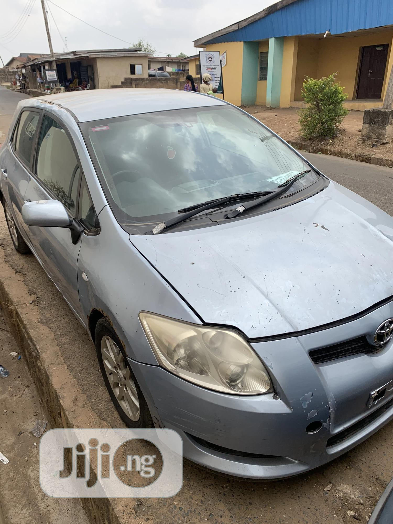 Toyota Corolla 2007 1.6 VVT-i Blue   Cars for sale in Oluyole, Oyo State, Nigeria