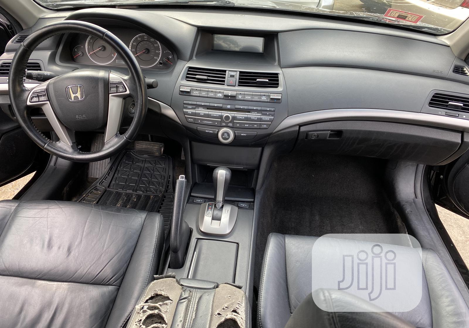 Honda Accord EX-L 2009 Black | Cars for sale in Ojodu, Lagos State, Nigeria