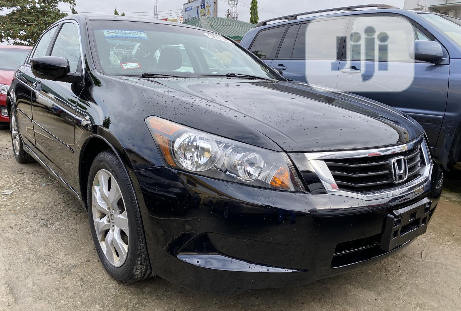 Honda Accord EX-L 2009 Black