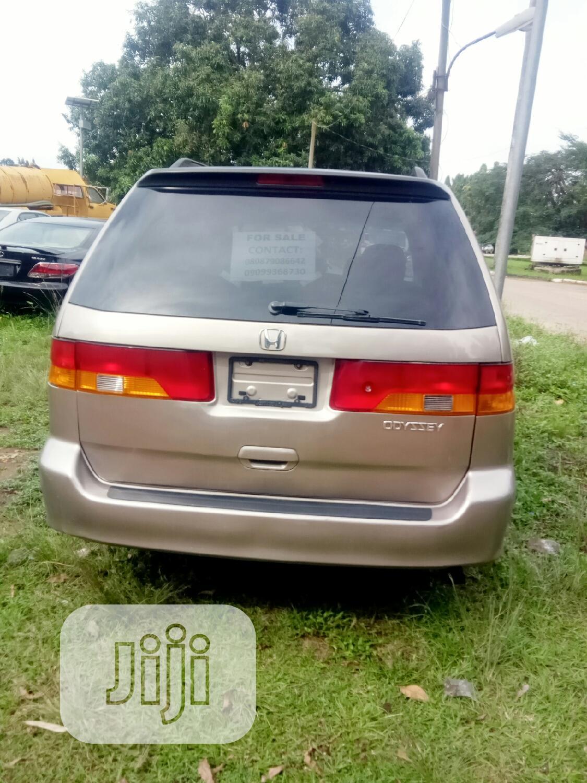 Archive: Honda Odyssey 2003 EX-L Gold