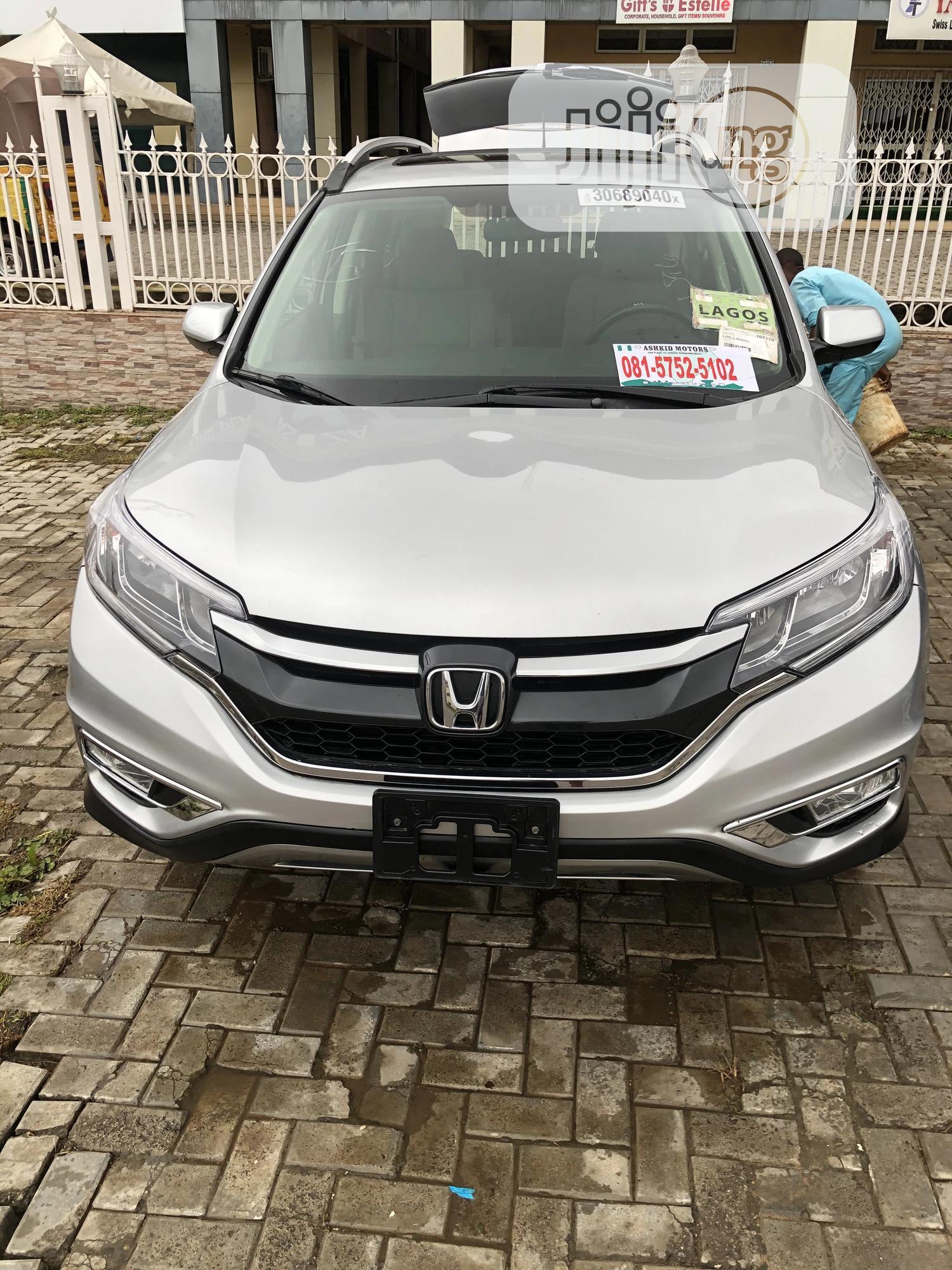 Honda CR-V 2015 Silver