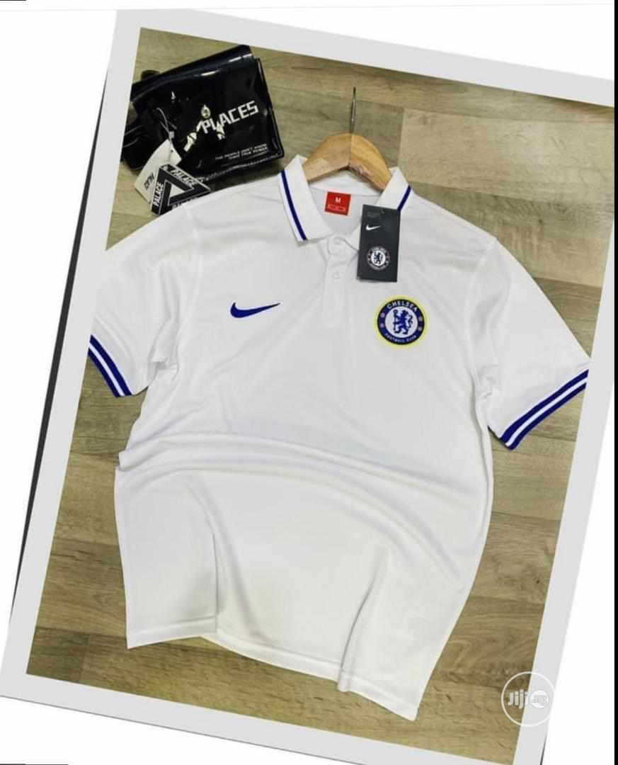 Chelsea Polo Shirt - Available in Blue and White
