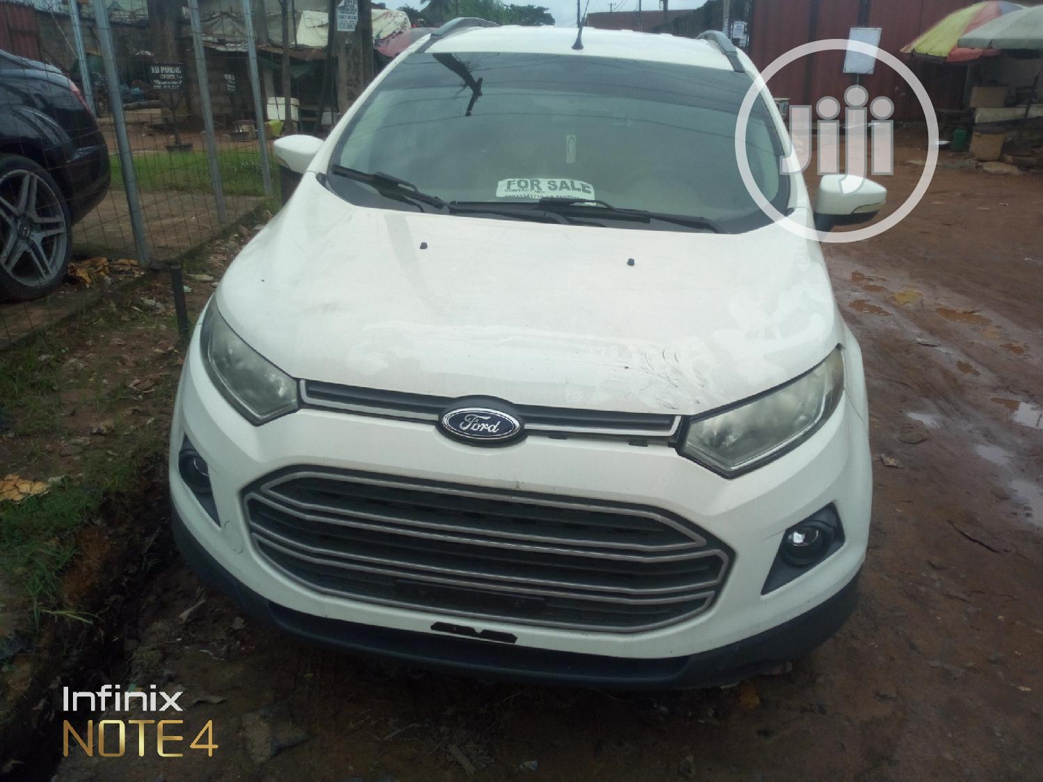 Ford Ecosport 2015 White In Port Harcourt Cars Stanford Azubuike Jiji Ng