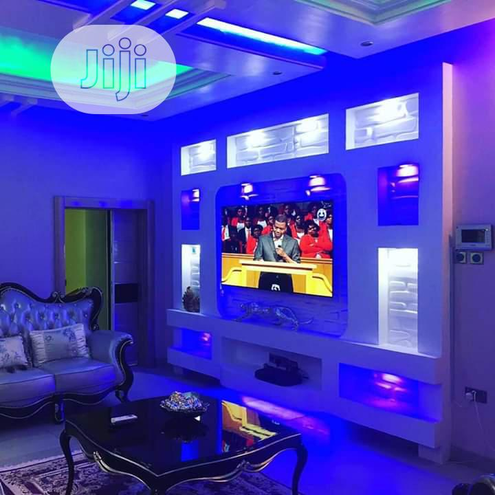 TV Wall Design And House Painting And Interior Decoration