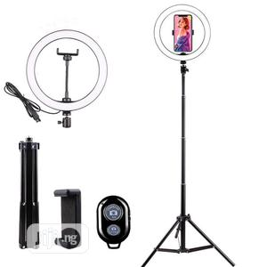 10inch Selfie LED Ring Light With 2.1m Tripod Stand   Accessories & Supplies for Electronics for sale in Lagos State, Alimosho