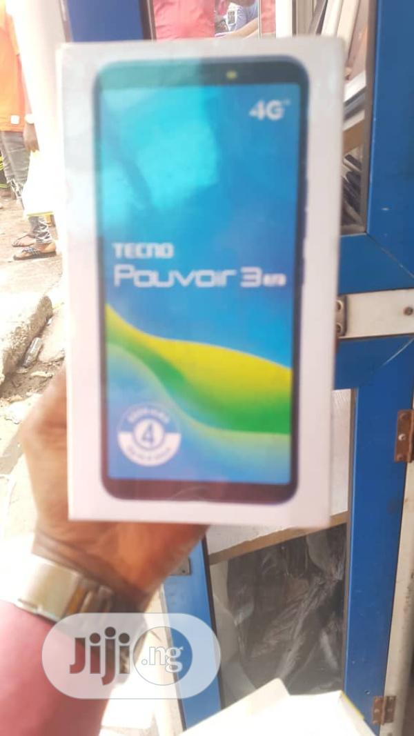 New Tecno Pouvoir 3 Air 16 GB Black   Mobile Phones for sale in Ikeja, Lagos State, Nigeria