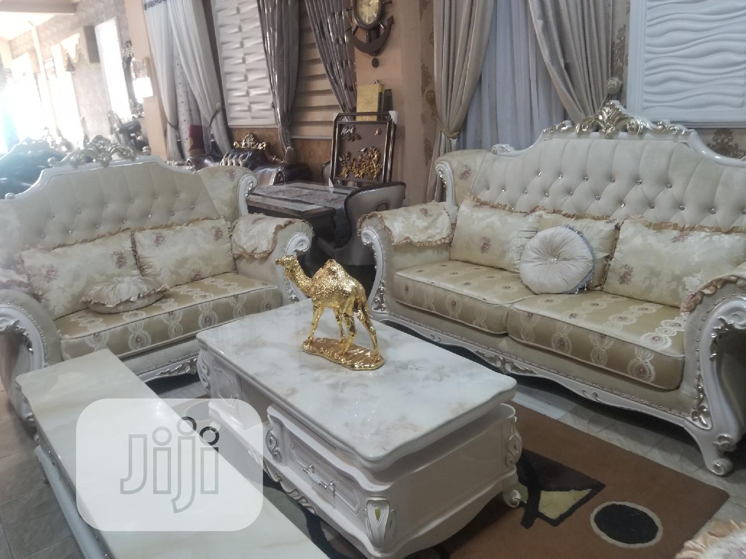 7seater Royal Fabric Turkey Sofa Chair | Furniture for sale in Ajah, Lagos State, Nigeria