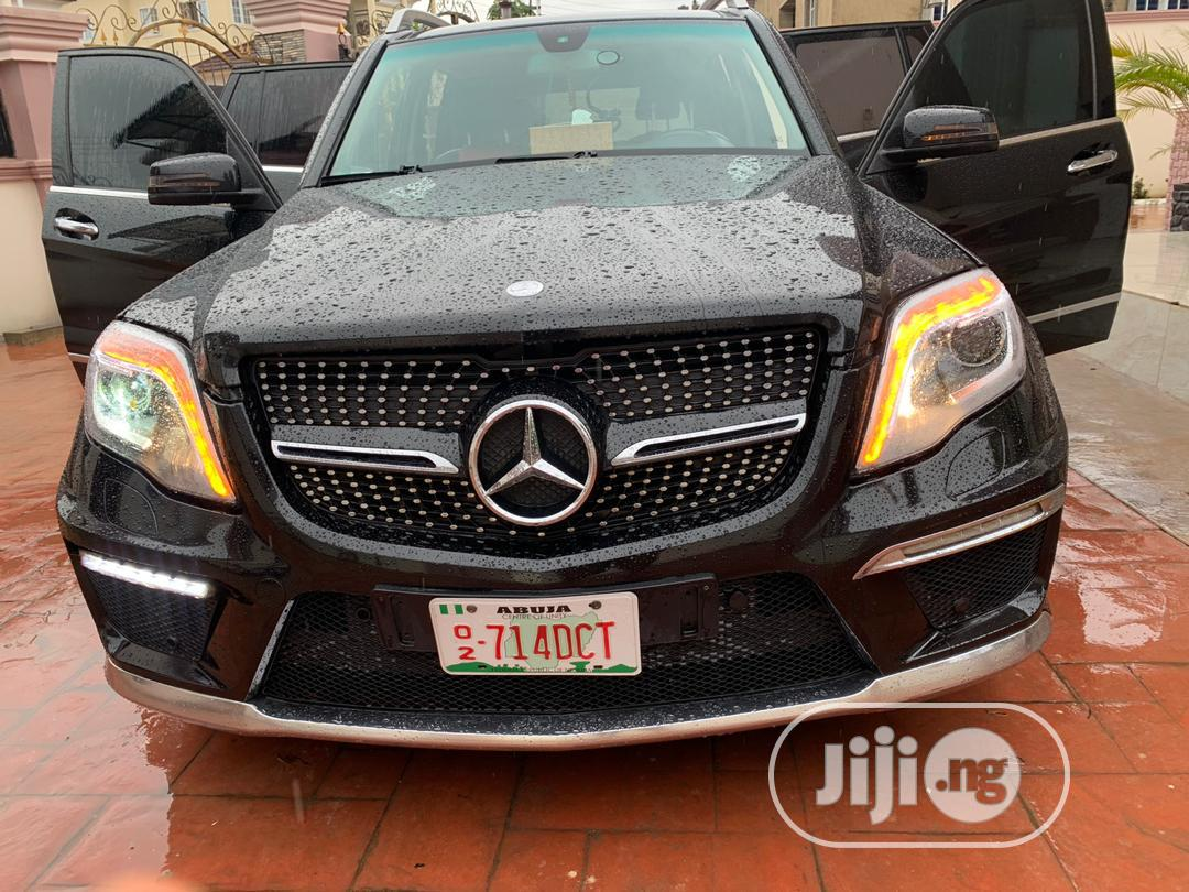 Mercedes-Benz GLK-Class 2015 Black