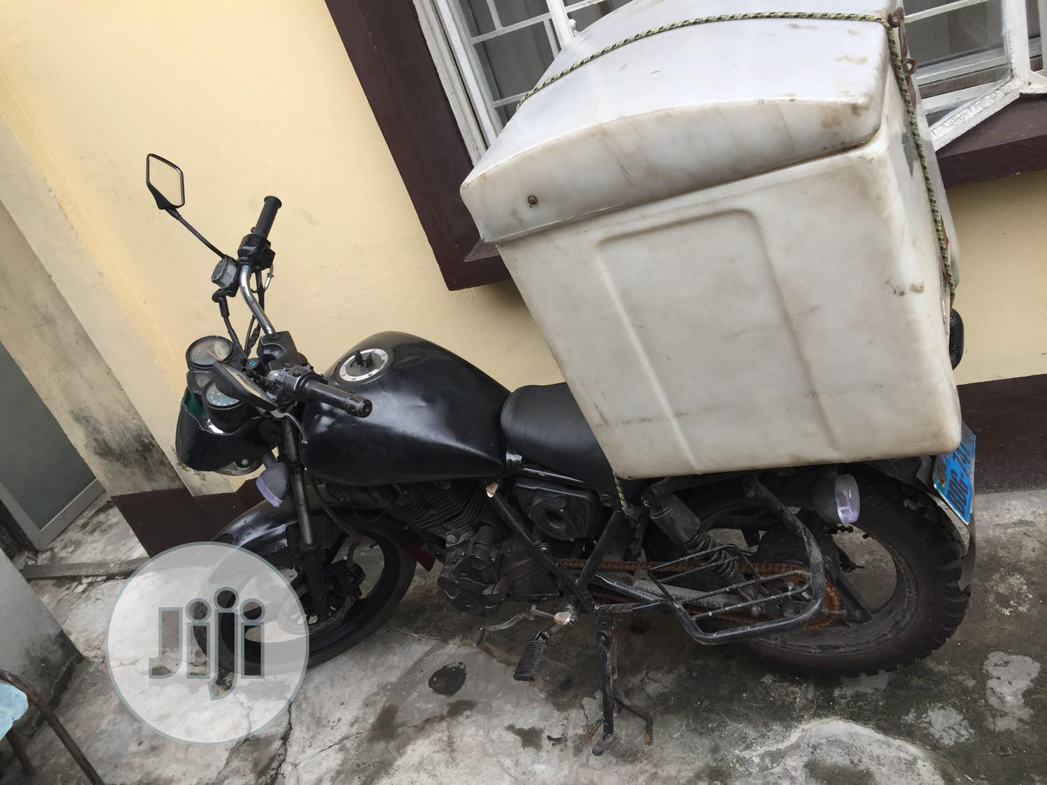 Qlink XF 200 2018 Black | Motorcycles & Scooters for sale in Surulere, Lagos State, Nigeria