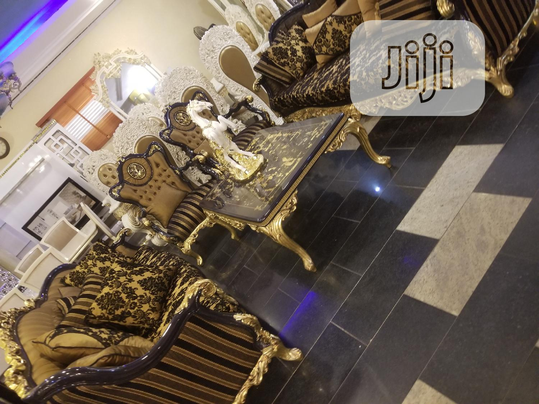 Executive Turkish Royal Fabric Sofa Chair Guaranteed