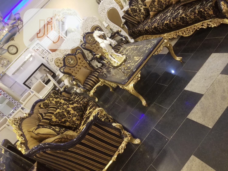 Executive Turkish Royal Fabric Sofa Chair Guaranteed | Furniture for sale in Ajah, Lagos State, Nigeria