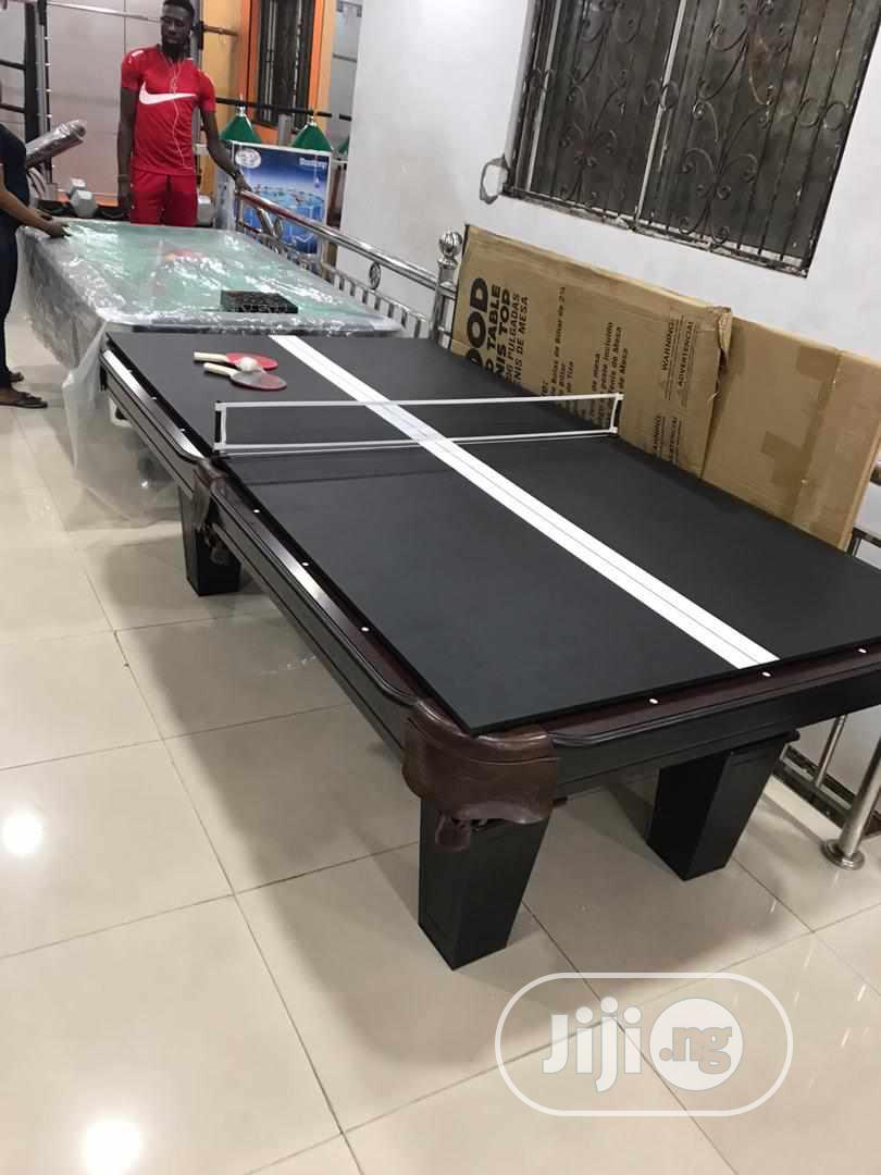 2 in 1 Table(Snooker and Table Tennis)