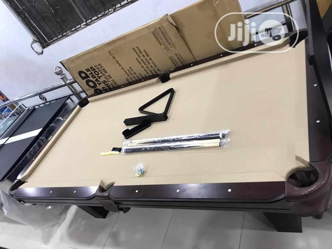 2 in 1 Table(Snooker and Table Tennis) | Sports Equipment for sale in Surulere, Lagos State, Nigeria