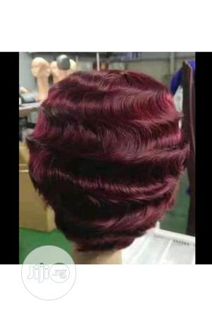 Short Colour Hair Wig | Hair Beauty for sale in Lagos State, Lagos Island (Eko)