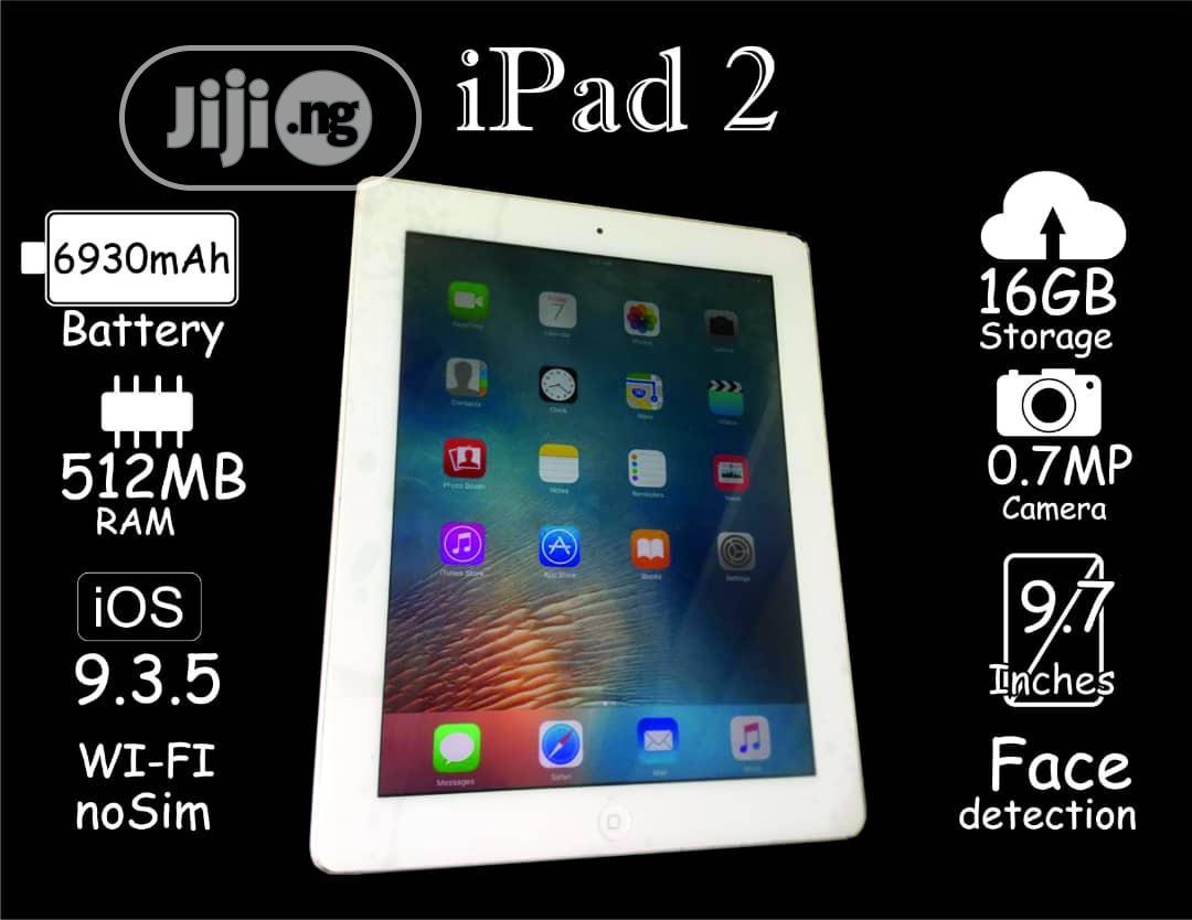 Apple iPad 2 Wi-Fi 16 GB Black   Tablets for sale in Benin City, Edo State, Nigeria