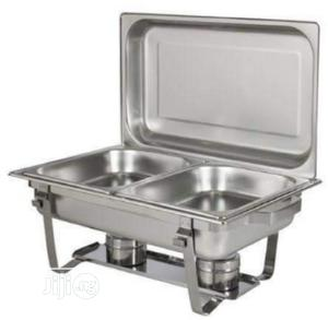 Original Stainless 2x1 With Double Burner Shaffing Dish | Restaurant & Catering Equipment for sale in Lagos State, Ojo