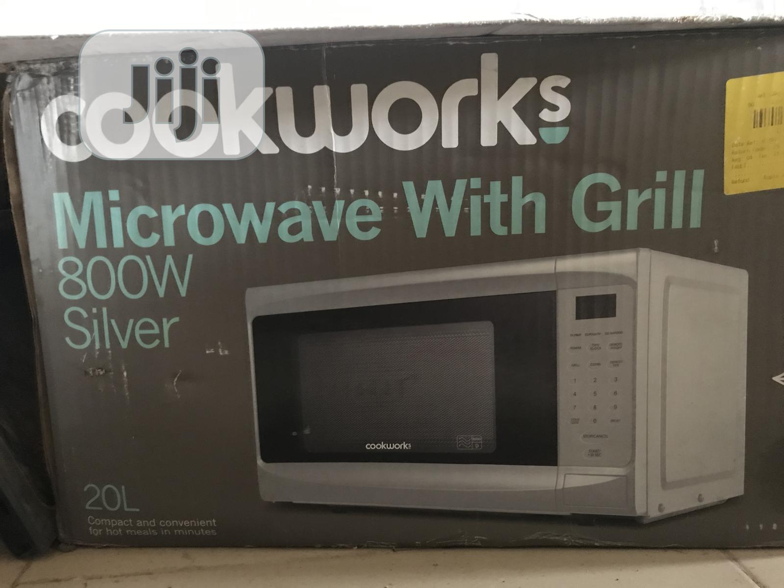 Cookworks Microwave With Grill 800/900 Watts