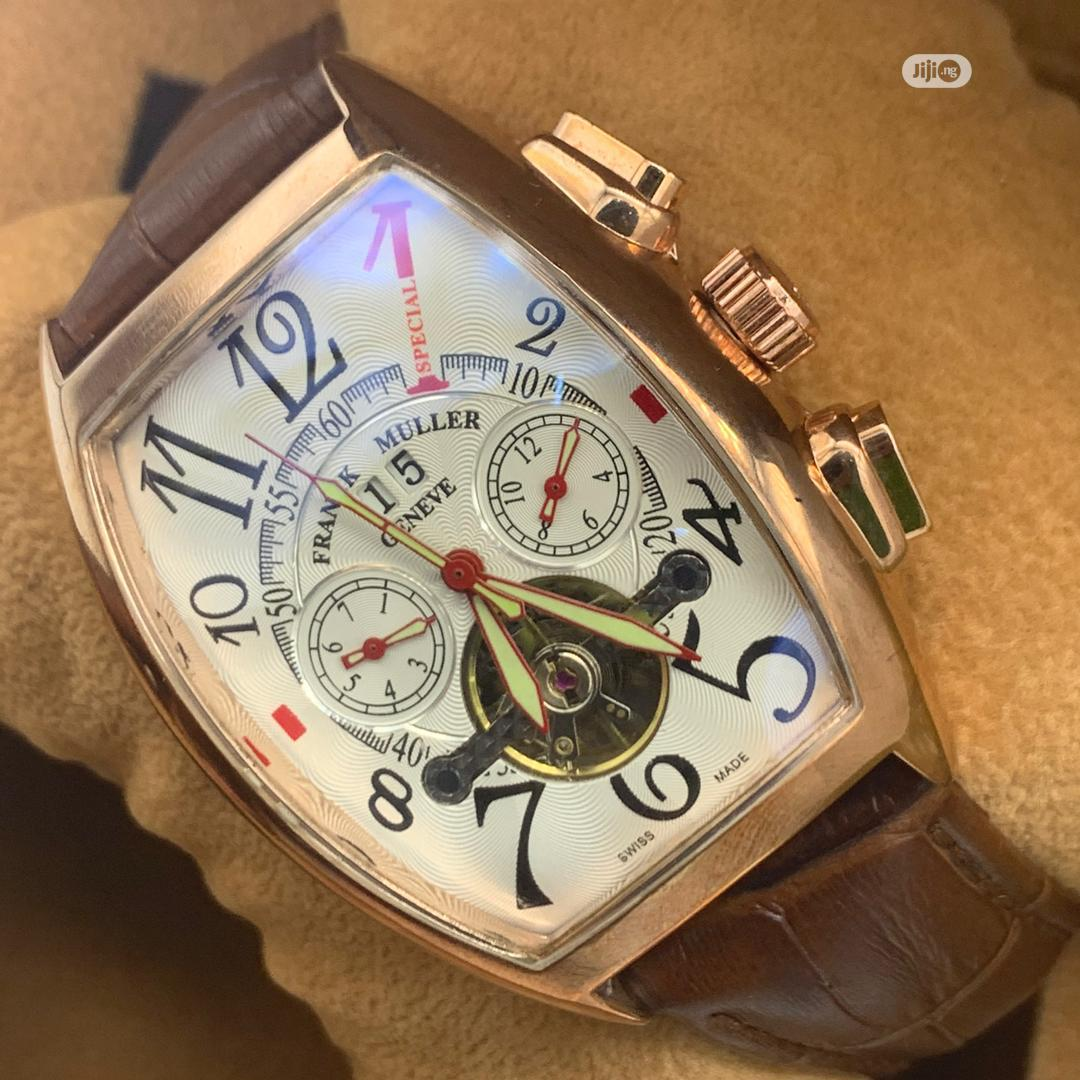 Archive: Frank Muller And Cartier