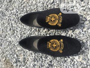 Uche Nation Bespoke Loafer With Gold Monogram   Shoes for sale in Lagos State, Ikeja