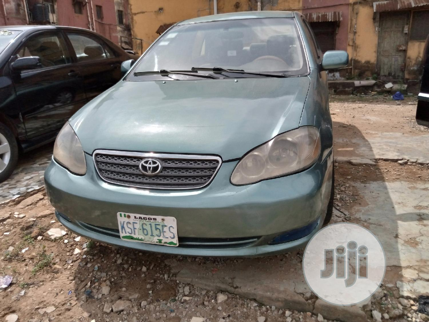 Toyota Corolla 2007 Green In Ikeja Cars Lifted Cars Jiji Ng For Sale In Ikeja Buy Cars From Lifted Cars On Jiji Ng