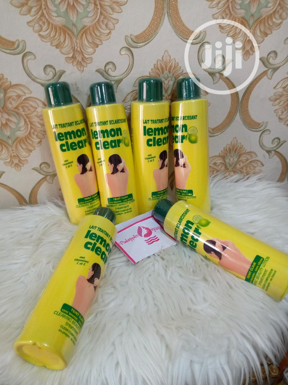 Lemon Clear Body Cream Is Effetive for Lightening