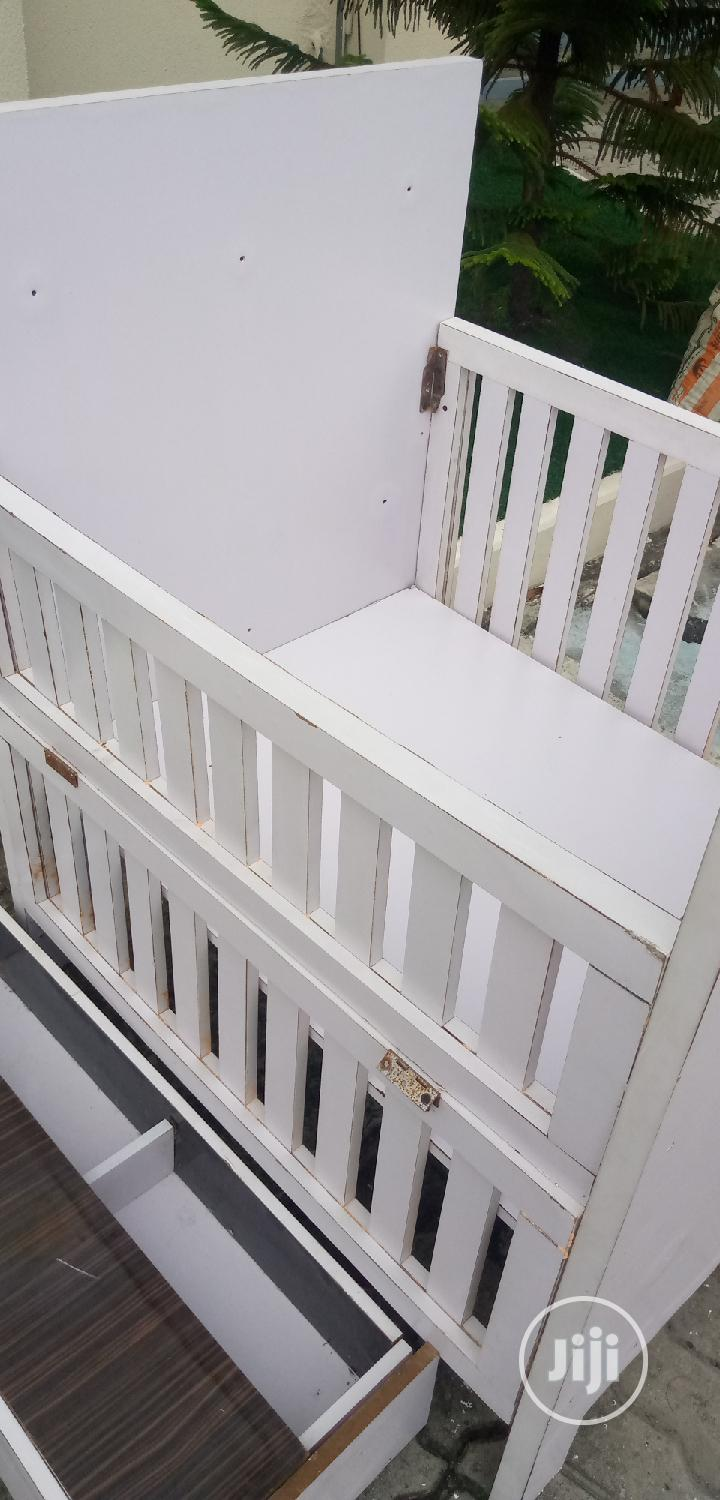 Archive: White Used Baby Cot